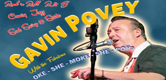 Gavin Povey & The Fabulous Oke-She-Moke-She-Pops @ Frank Owens : Marquee | Limavady | United Kingdom