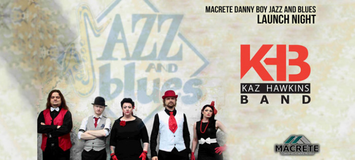 Official Launch : The Kaz Hawkins Band @ Roe Valley Arts & Cultural Centre | Limavady | United Kingdom